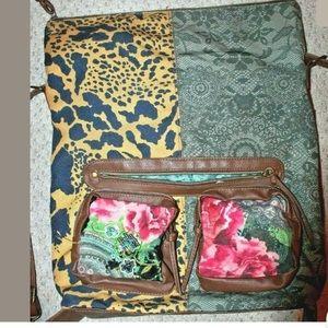 Desigual convertible bag crossbody backpack cute!